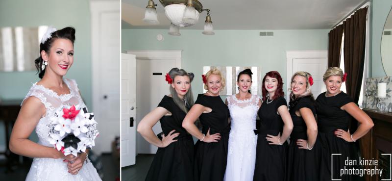 Dan Kinzie Photography Jaymie And Patrick 50s Themed Wedding